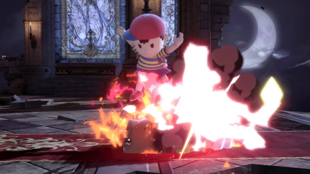Smash Bros Ness.