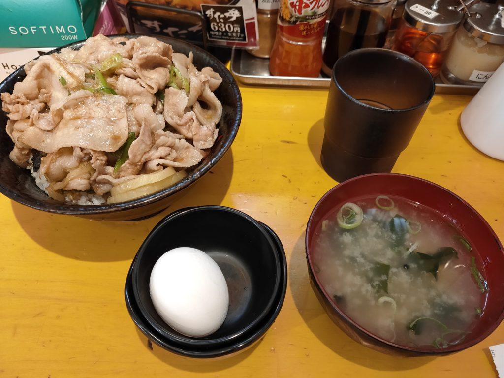 町田駅前にある伝説のすた丼