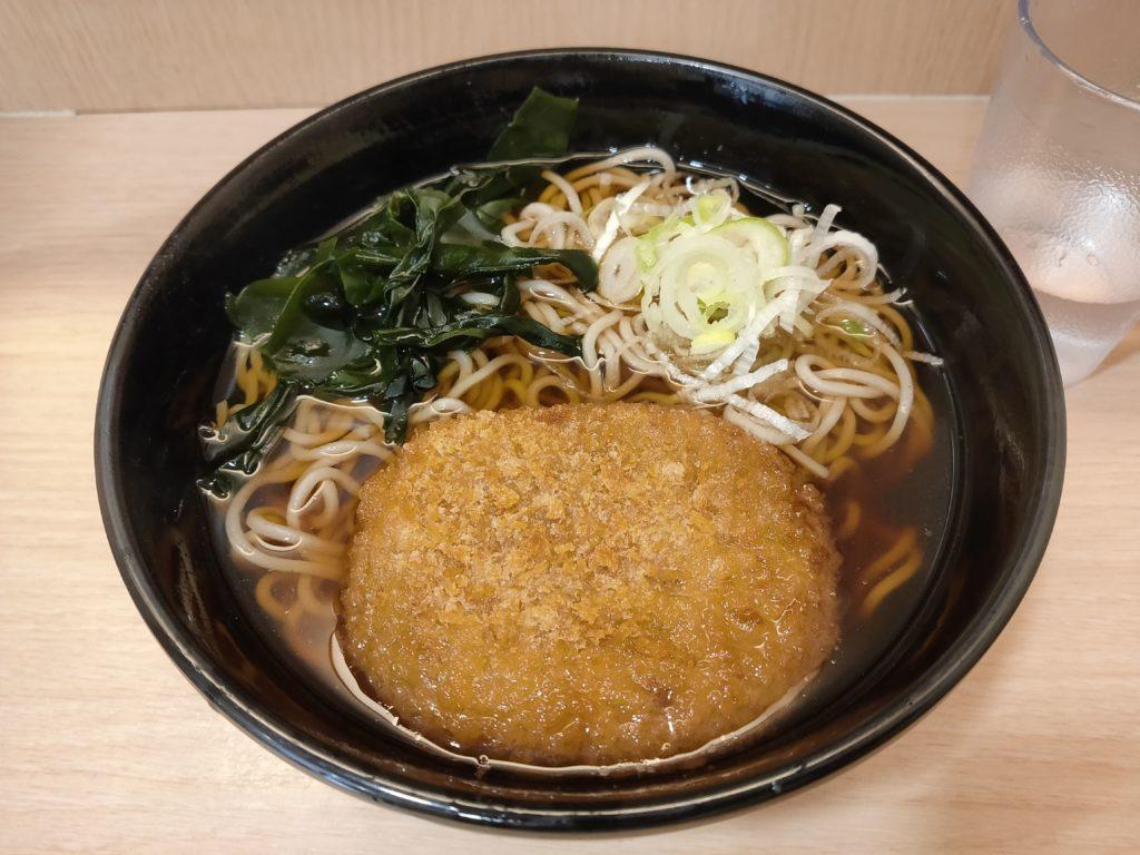 小田急町田北口店の箱根そばのコロッケそばだよ!