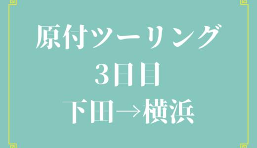 【50cc原付伊豆半島一周】めうにんげん旅行記・下田→横浜編(最終日)