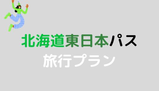 幻に終わった「北海道東日本パス」旅行プランを公開