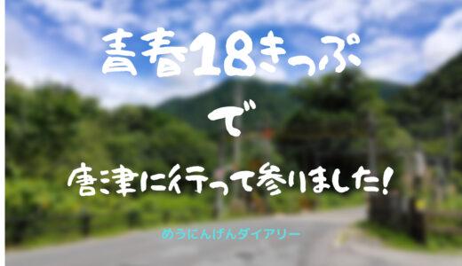 【18きっぷ旅行】唐津市・唐津城は「最強」。虹の松原もいいですね【九州旅行最終日】