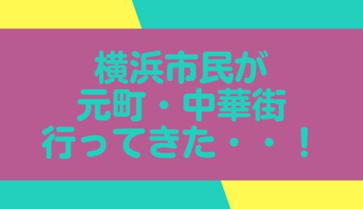 【横浜旅行】元町・中華街に行ってきました!